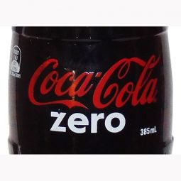 Australia Coca-Cola Zero Glass Bottle 385 ml
