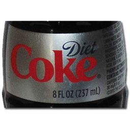 Diet Coke Silver Label Bottle (West Coast Edition) 2014