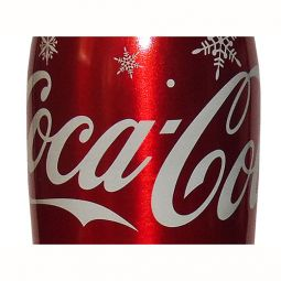Singapore Snowflake Aluminum Coca-Cola Bottle 250 ml