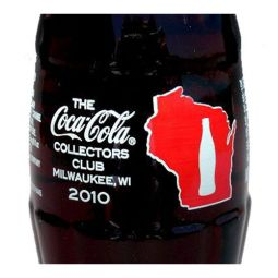 The Coca-Cola Collectors Club 36th Convention Milwaukee 2010 Bottle