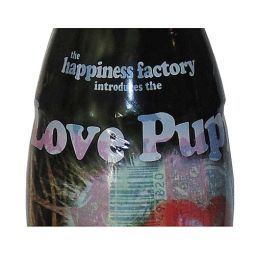 Happiness Factory Love Puppy Coca-Cola Bottle 2007