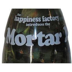 Happiness Factory Mortar Wrapped Coca-Cola Bottle 2007