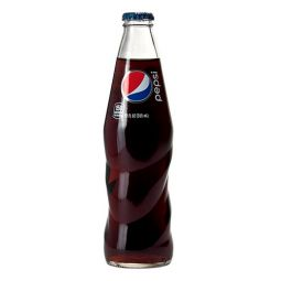Mexican Glass Pepsi Bottle 355 ml